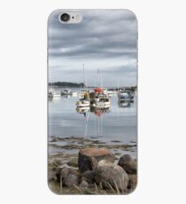 lobster boat harbor iPhone Case