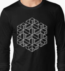 Impossible Shapes: Hexagon Long Sleeve T-Shirt