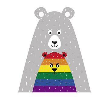 Mama Bear Gay LGBT Pride by thequeershop