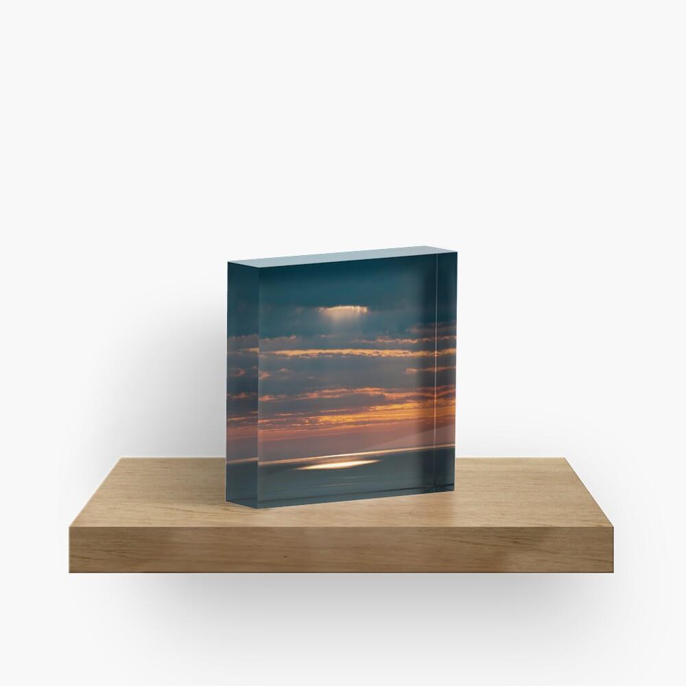 Bloc acrylique «Light on the Sea»