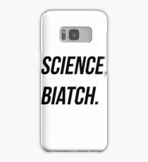 """SCIENCE BIATCH"" - Leo Fitz, Agents of Sheild Samsung Galaxy Case/Skin"