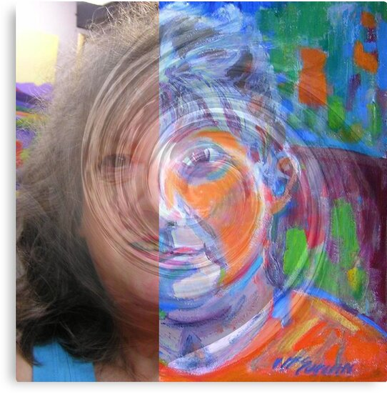 Me Morphed  by Virginia McGowan