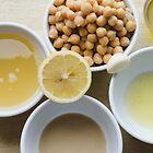 Houmous - Chickpea & Sesame Dip Ingredients by Kasia-D