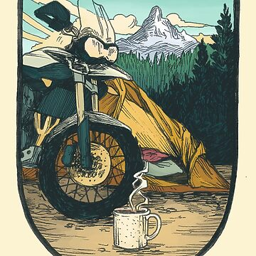 Moto Camp Life by blindthistle