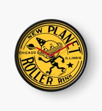 New Planet Roller Rink Clock
