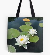 Be Where You Are (Lotus Flower) Tote Bag