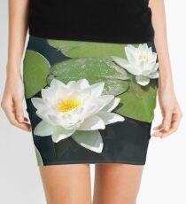 Be Where You Are (Lotus Flower) Mini Skirt