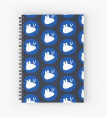 xubuntu x4 Spiral Notebook