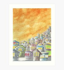 """""""Dusk in the City"""" by Robin Galante Art Print"""