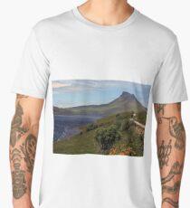 Loch Lurgainn and Stac Pollaidh Men's Premium T-Shirt