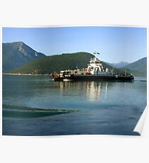 Shelter Bay Ferry Poster
