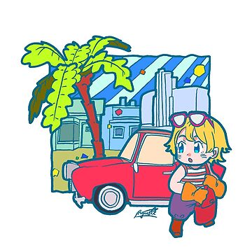 Red Car by ryuseihashida