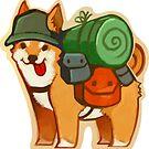 Adventure Shiba by cosamo