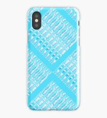 Turquoise Links by Jan Marvin iPhone Case