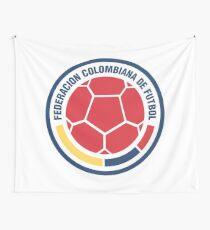 Kolumbien Fußballmannschaft Wandbehang