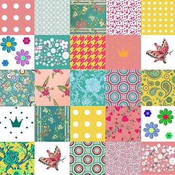 Colorful Patchwork Pattern by Greenbaby