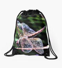 dragon-fly Drawstring Bag