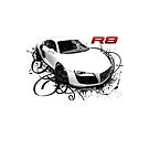 Audi R8 in swirls by CoolCarVideos
