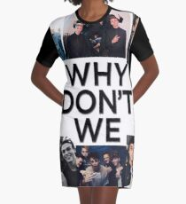 full collage Graphic T-Shirt Dress