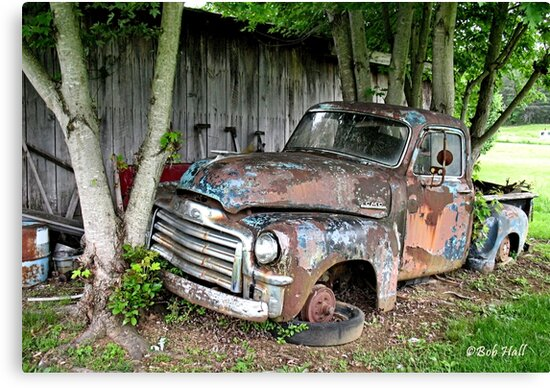 OLD CLUNKER, Photo, for prints and products by Bob Hall©
