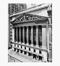 Lámina fotográfica Bolsa de Nueva York Circa 1908