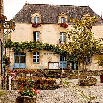 City Hall / Mairie Rochefort en Terre, Morbihan France by Buckwhite