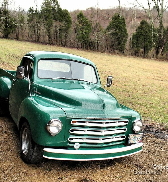 STUDEBAKER TRUCK: PUT OUT TO PASTURE, 'TIL THE NEXT RIDE, Photo, for prints and products by Bob Hall©