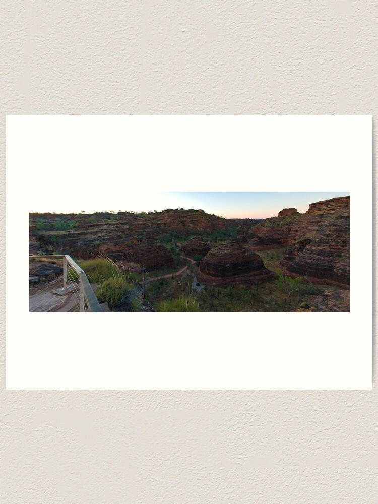 Alternate view of Hidden Valley Art Print