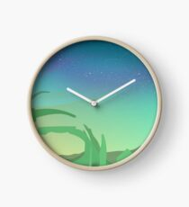 Star Butterfly and Steven Universe Crossover Clock