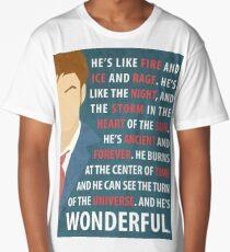 Dr Who Long T-Shirt