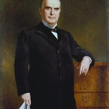 William McKinley Painting - By August Benziger by warishellstore