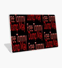 Free Tommy Dump May! Laptop Skin