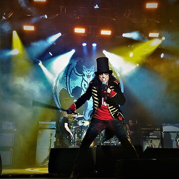 Alice Cooper Print - Hollywood Vampires by Russell1406