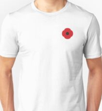 Remembrance Day Poppy Day Unisex T-Shirt