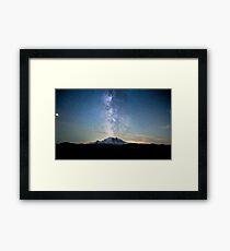 Balance - Mount Rainier National Park, WA Framed Print