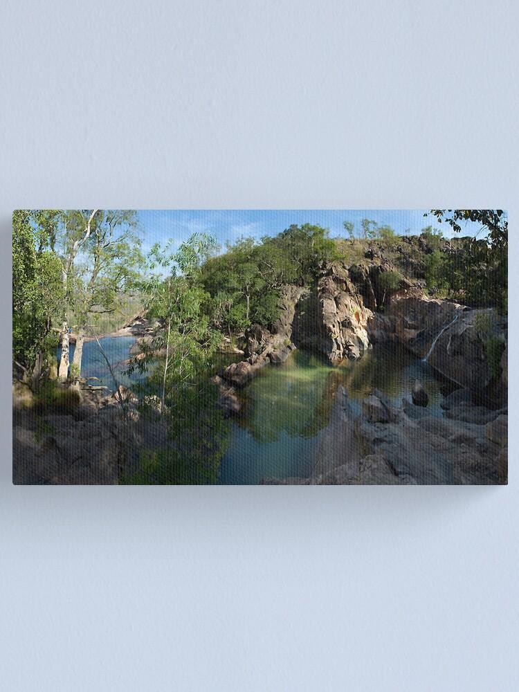 Alternate view of Gunlom Falls Canvas Print