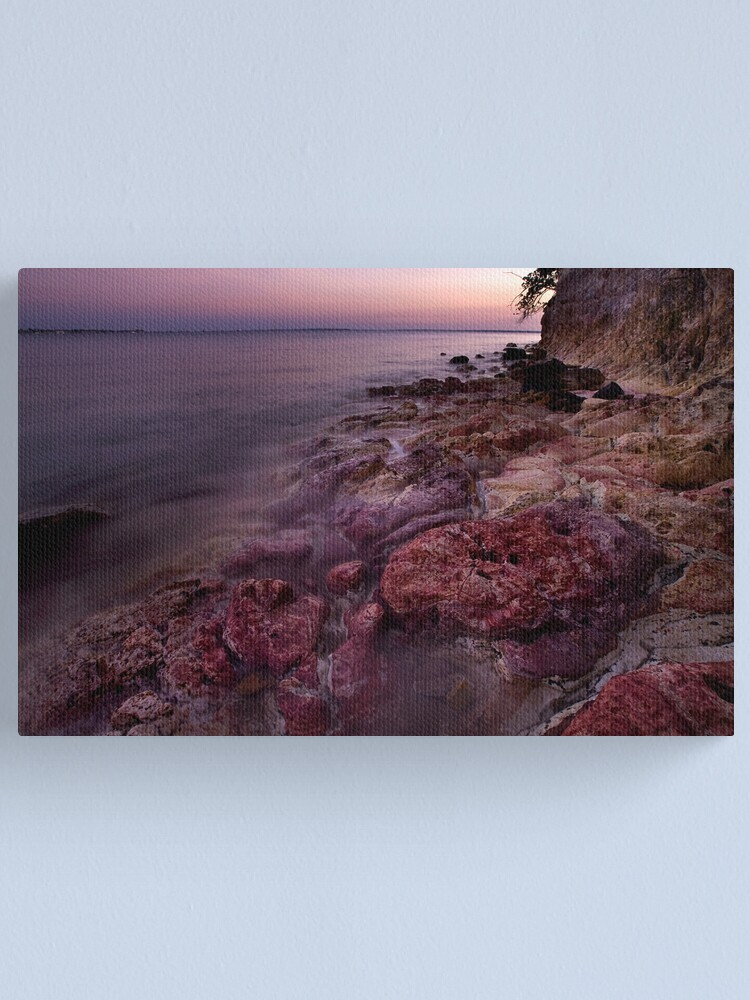 Alternate view of Red Rocks Canvas Print