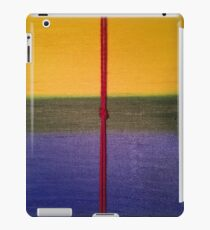 From Yellow to Blue, Tie in Red Too iPad Case/Skin