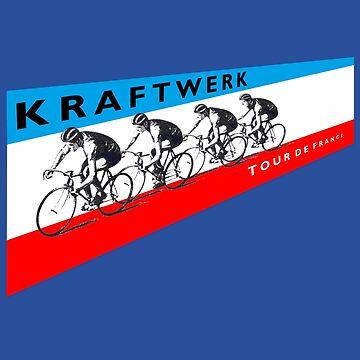 Kraftwerk Tour De France Shirt by RatRock