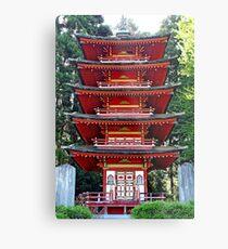 SF Japanese Tea Garden Study 12  Metal Print