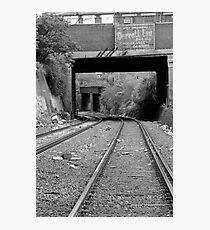 Off the Tracks Photographic Print