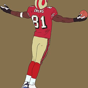 Terrell Owens Celebration by RatTrapTees