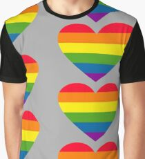 Pride Hearts Graphic T-Shirt