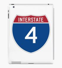 Interstate 4 iPad Case/Skin