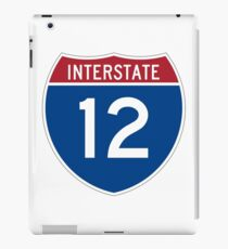 Interstate 12 iPad Case/Skin