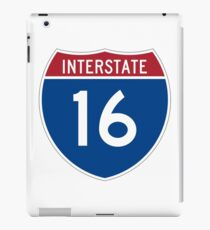Interstate 16 iPad Case/Skin