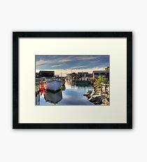 Fisherman's Cove, Eastern Passage Framed Print