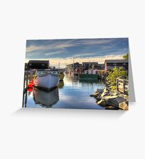 Fisherman's Cove, Eastern Passage Greeting Card
