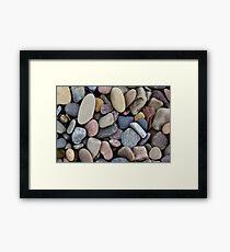 Beach Gems Framed Print