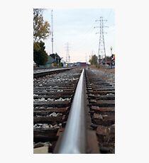 Rail Photographic Print